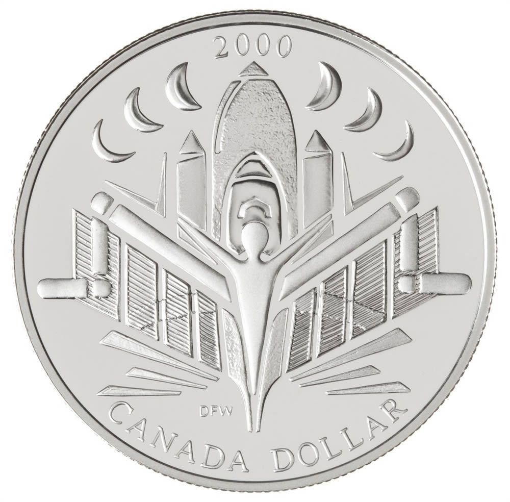 2000 $1 Proof Silver Coin
