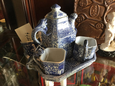 Qing Dynasty china set