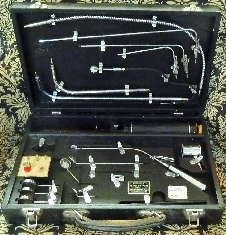 Ellis optical travelling inspection kit