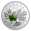 2014 $20 Majestic Maple Leaves with Jade