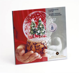 2007 Holiday Gift Set with Coloured 25-cent