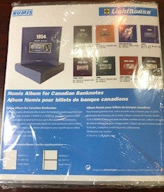 Numis Album for Canadian Banknotes $100 2001-2006