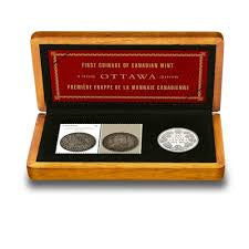 2008 Canada Royal Canadian Mint 100th Anniversary Coin & Stamp Set