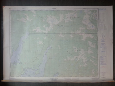 Nautical chart / Map: Bedwell River, British Columbia. 92 F/5, Edition  4