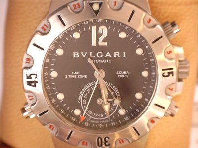 Bvlgari Diagono 2015 Automatic Chronometer 3 Time Zones