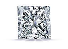 Princess cut diamond  0.72ct  I1 I  Good cut  4.91 x 4.54 x 3.58mm