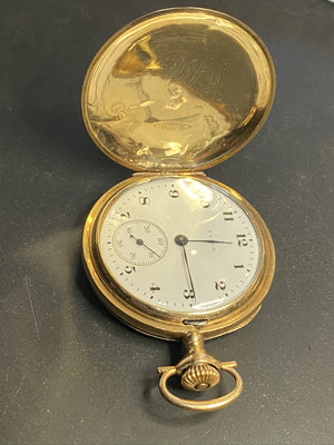 Elgin 1918 14K  Pocket Watch