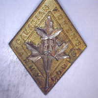 Canadian Women's Army Corps Badge