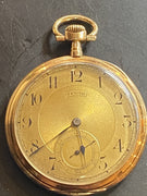 14K Zenith Pocket Watch