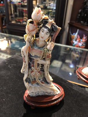 Ivory Chinese Woman Goddess