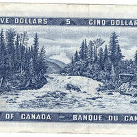 1954 $5 Note Bank of Canada - VF