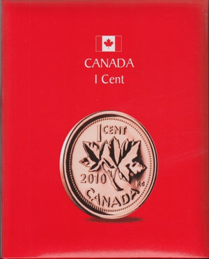 1 CENTS KASKADE CANADIAN COIN ALBUMS