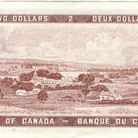 1954 $2 Note Bank of Canada - UNC