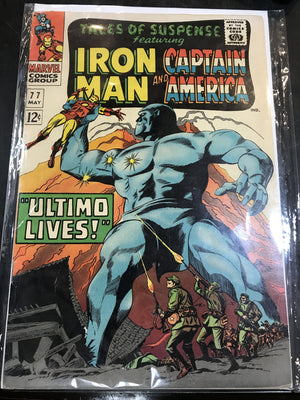 Tales of Suspense #77 w/ Iron Man and Captain America