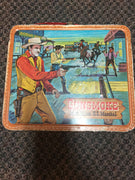 1959 Gunsmoke Matt Dillon U.S. Marshal Lunchbox Thermos