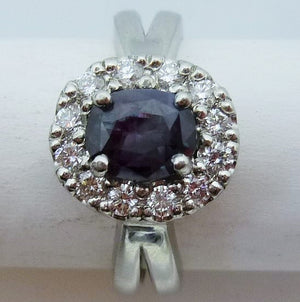 1.20ct. Alexandrite Platinum Ring