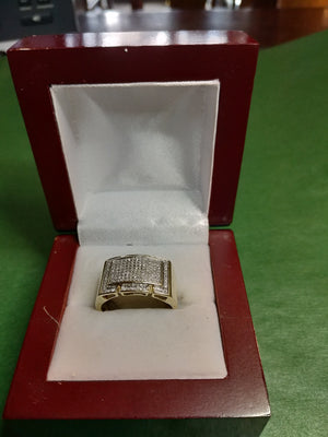 6.3g 10K Yel Gold with 1.5cttw diamond Ring
