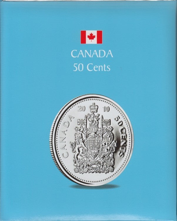 50 CENTS KASKADE CANADIAN COIN ALBUMS