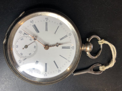 L.U.C. Louis Ulysse Chopard Pocket Watch Key Wind 1890