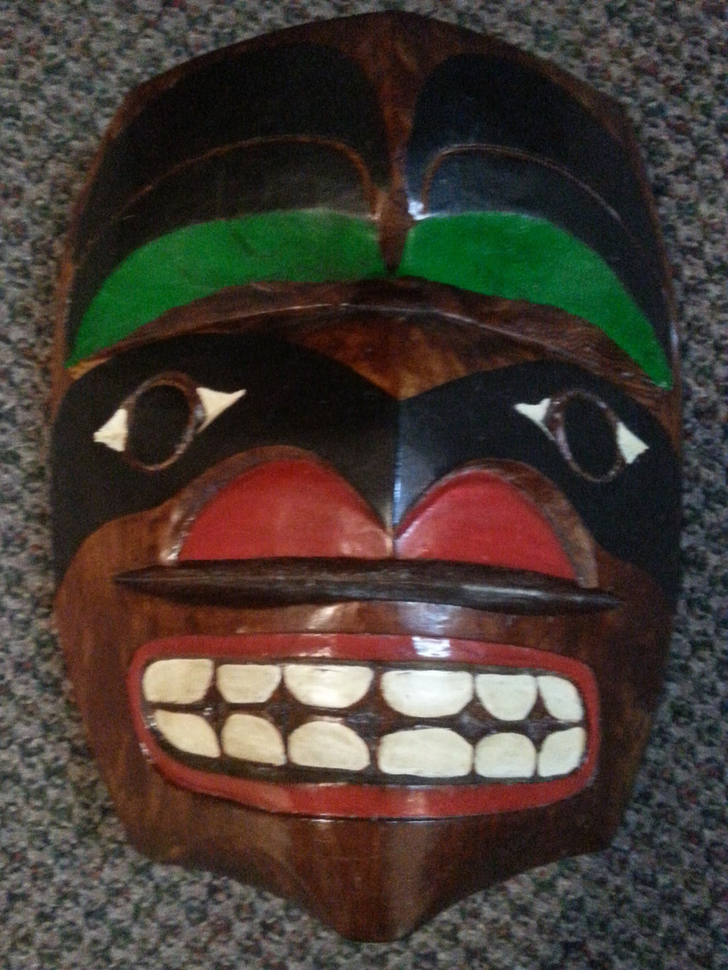 Haida Mask by Chief Nick