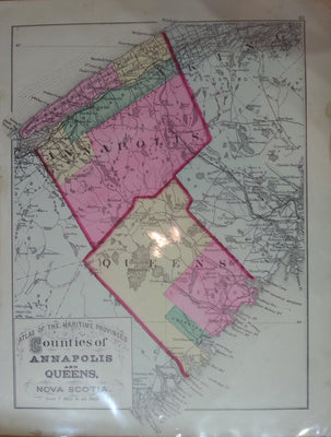 Counties of Annapolis and Queens, N.S. 1878