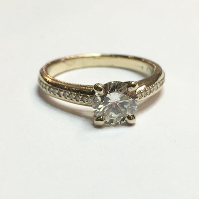 1.02ct I1 L Diamond Ring