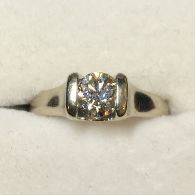 5.1g 14k .65ct SI1 H Engagement Ring