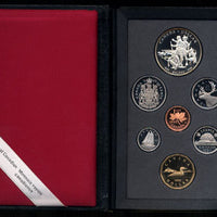 1990 Double Dollar Proof Set