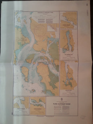 Nautical Chart / Map: Plans - Clayoquot Sound, Vancouver Island, B.C.