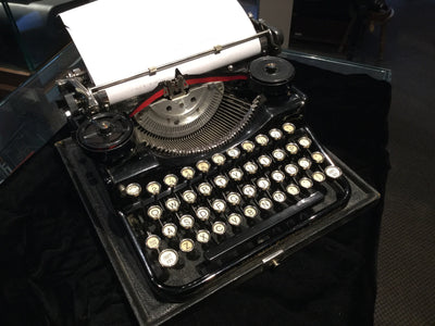 Antique Underwood Portable Typewriter