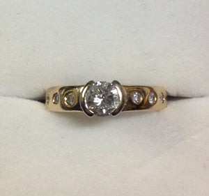 0.67ct 14K Diamond Ring