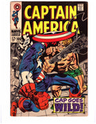 Captain America Cap Goes Wild 106