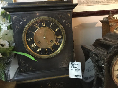 19th Century Marble Mantle Clock