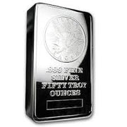 Sunshine 50 Troy Ounce Silver