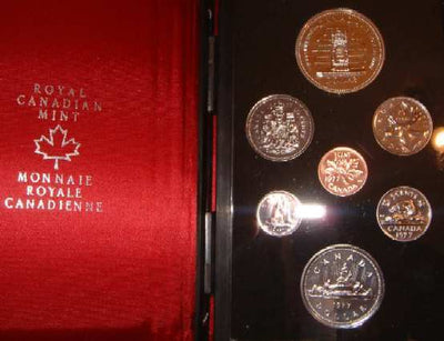 1977 Double Dollar Proof Set