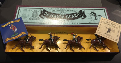 The 6th Caribiniers Dragoon Guards Toy Soldiers
