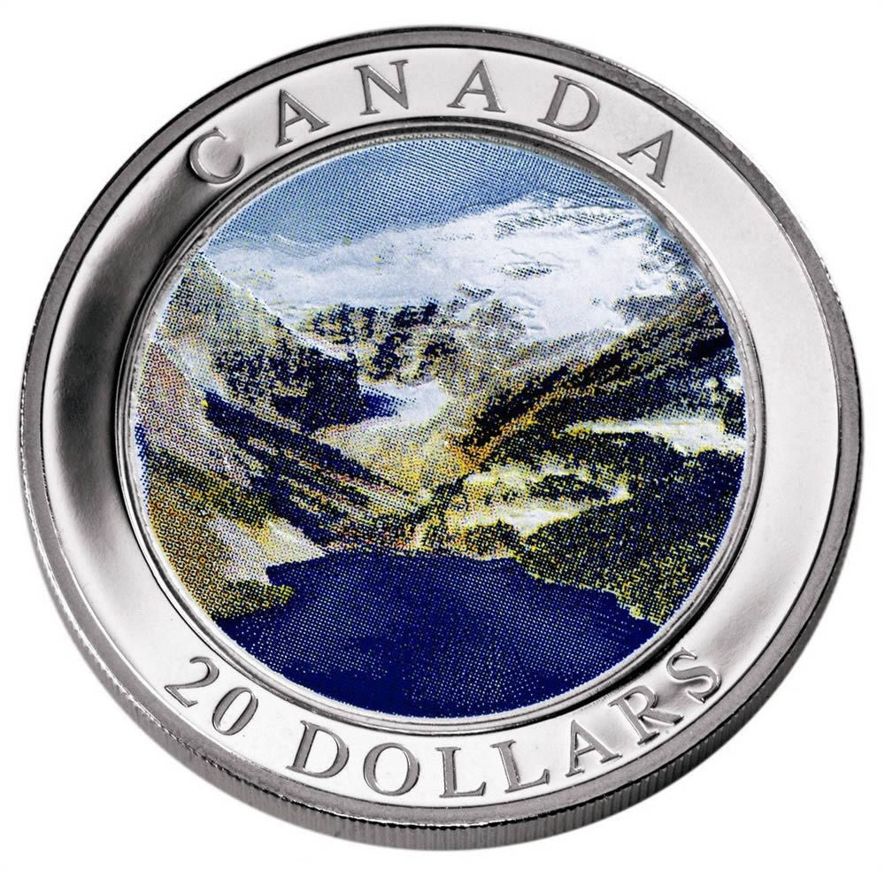 2003 $20 Rocky Mountains
