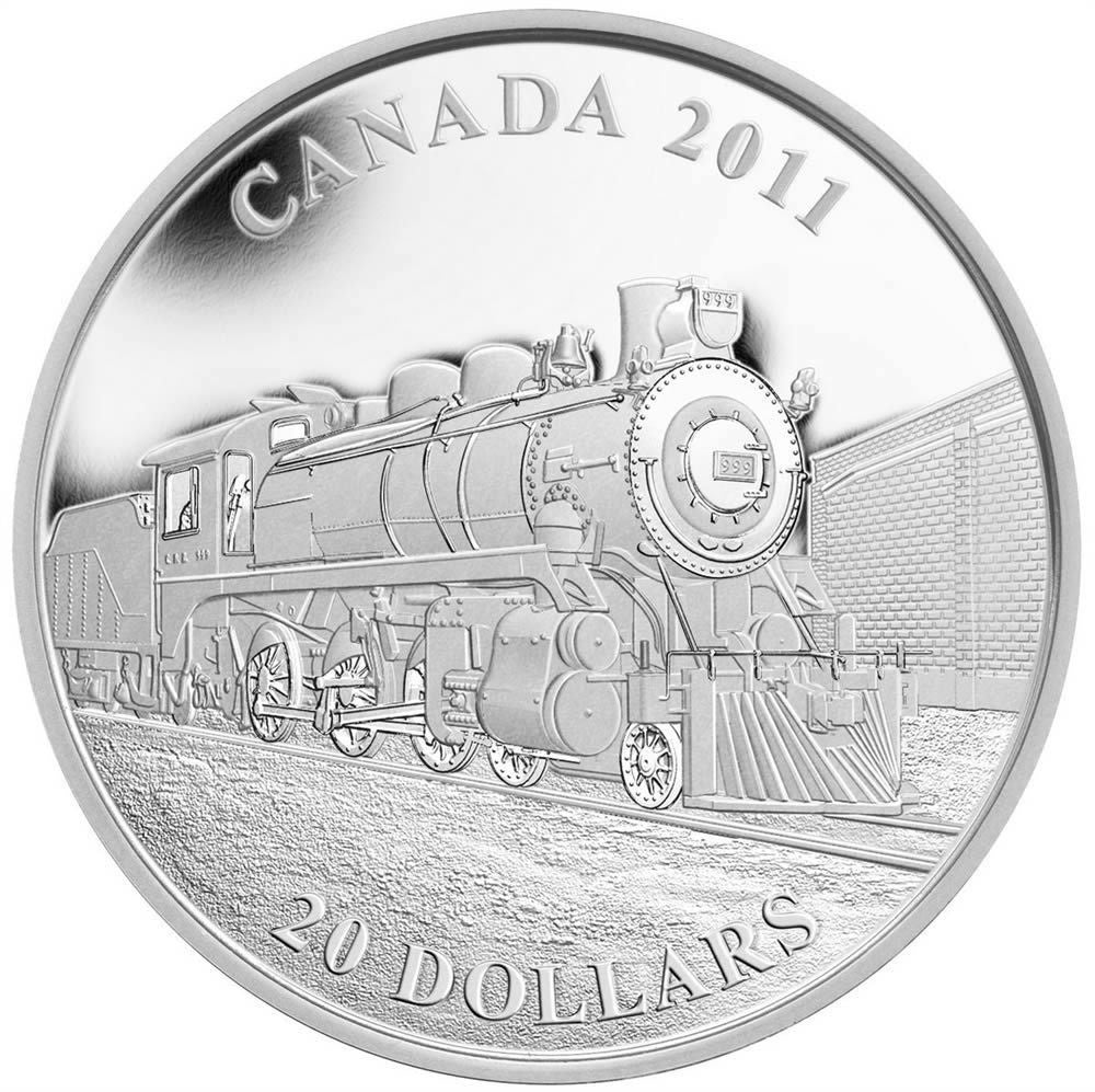 2011 $20 Great Canadian Locomotives Series: D-10