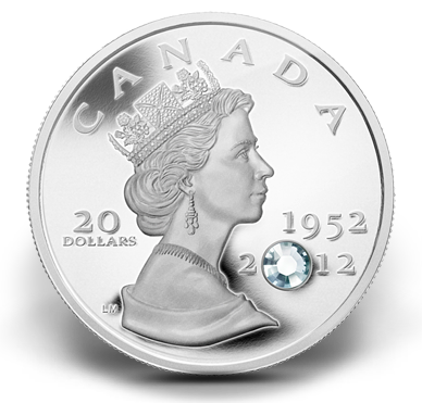 2012 $20 The Queen's Diamond Jubilee