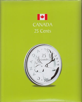 25 CENTS KASKADE CANADIAN COIN ALBUMS