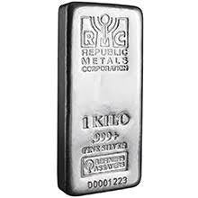 Republic RCM 1 Kilo Silver Bar