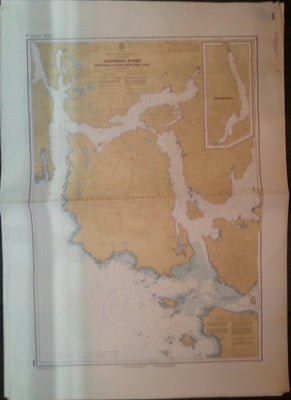 Nautical Chart / Map: Clayoquot Sound, Northwest Portion, B.C.