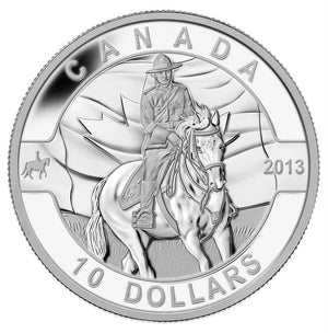 2013 $10 O Canada: Royal Canadian Mounted Police