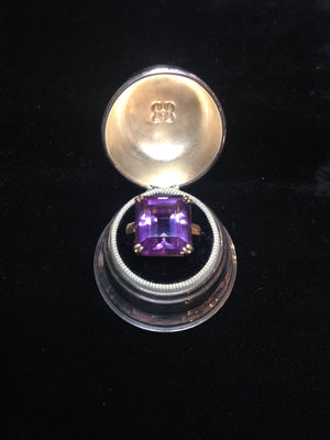 20ct 14K Amethyst Ring