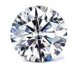 1.03ct I1 E Good Cut Round Brilliant Diamond