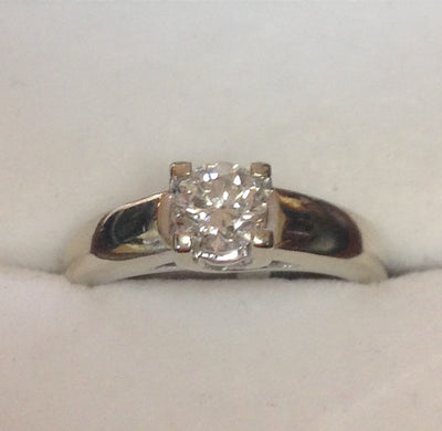 0.70ct 18K Diamond Ring