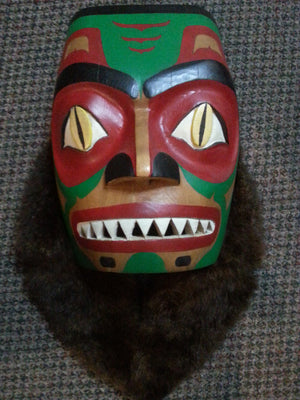 West Coast Dog Fish Mask