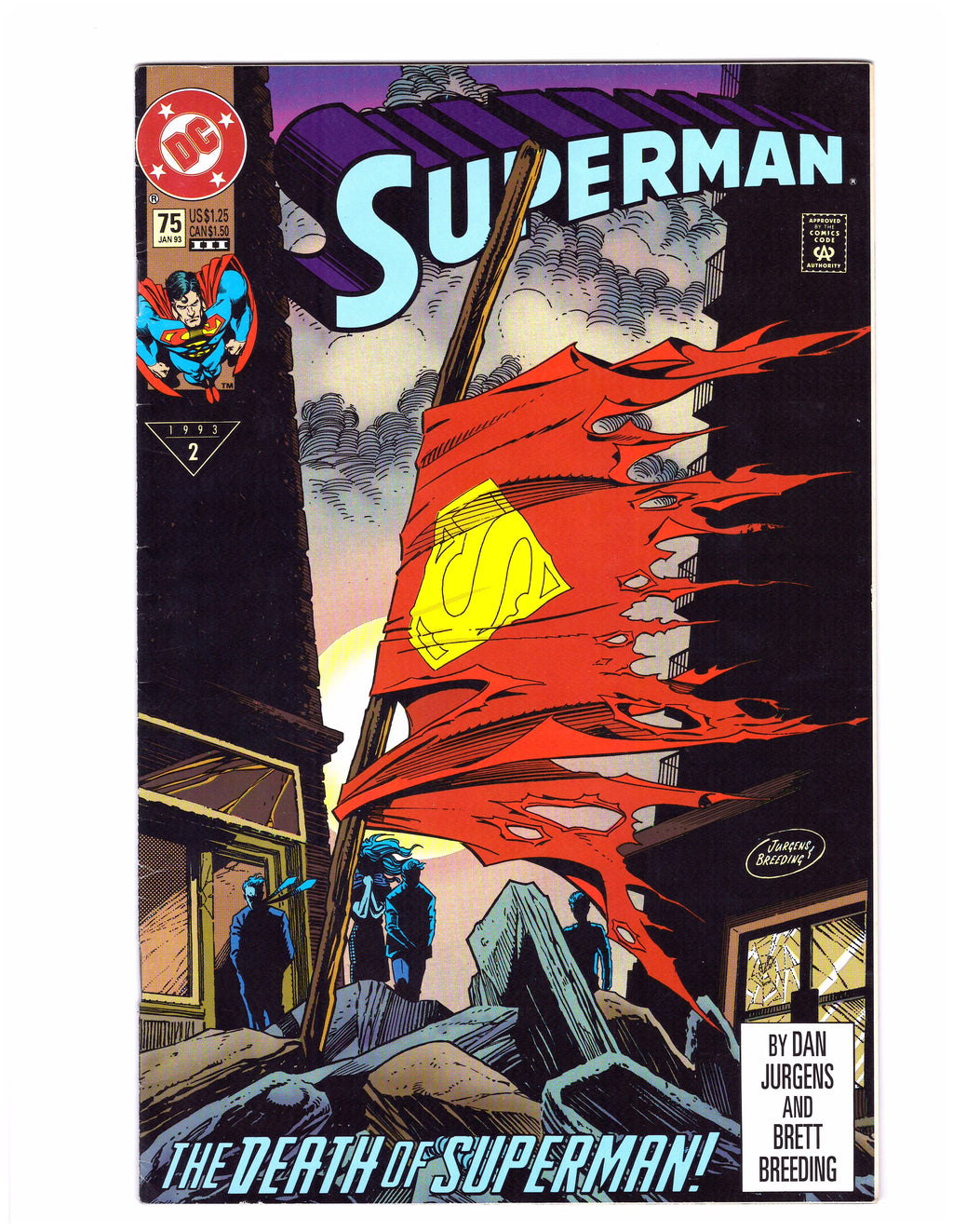 Superman #75C - The Death Of Superman