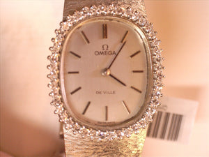 Omega 18K Ladies Diamond Wathc
