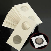 100 x 5-cent Size Cardboard 2x2 Holders